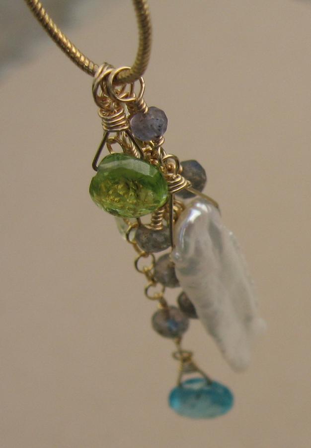 Lynn necklace drop